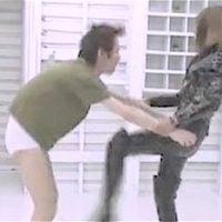 女スパイの金蹴り拷問